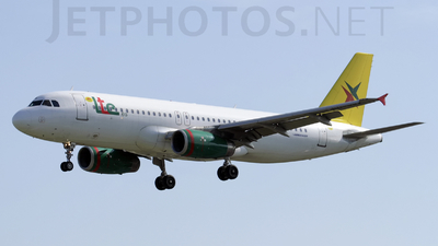 EC-JRX - Airbus A320-232 - LTE International Airways