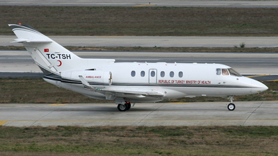 TC-TSH - Raytheon Hawker 900XP - Turkey - Ministry of Health