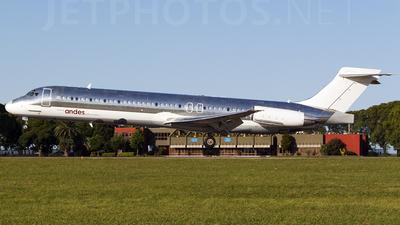 LV-BZR - McDonnell Douglas MD-87 - Andes Líneas Aéreas