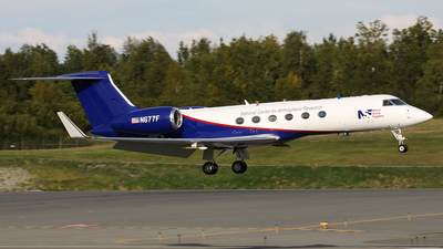 N677F - Gulfstream G-V - United States - National Science Foundation