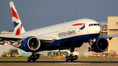 G-VIIV - Boeing 777-236(ER) - British Airways
