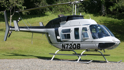 N720B - Bell 206L-1 LongRanger - Private