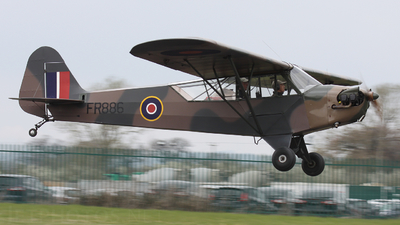 A picture of GBDMS - Piper J3C65 Cub - [13049] - © hjcurtis