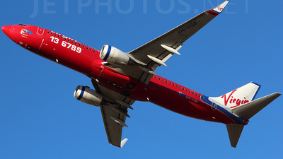 VH-VOB - Boeing 737-8BK - Virgin Blue Airlines