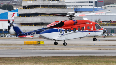 A picture of GCHCS - Sikorsky S92A Helibus - CHC Helikopter Service - © Iain Marshall