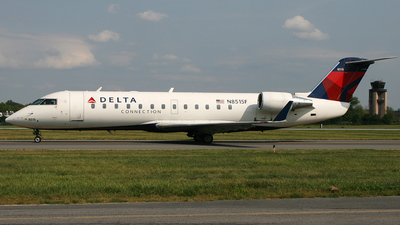 N8515F - Bombardier CRJ-200ER - Delta Connection (Pinnacle Airlines)