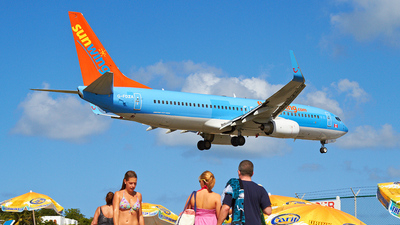 G-FDZA - Boeing 737-8K5 - Sunwing Airlines (Thomson Airways)