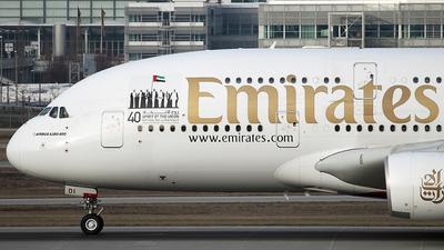 A6-EDI - Airbus A380-861 - Emirates