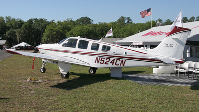 N524CN - Beechcraft A36 Bonanza - Private