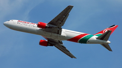 5Y-KQX - Boeing 767-36N(ER) - Kenya Airways
