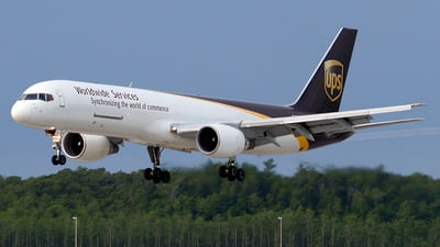 N414UP - Boeing 757-24A(PF) - United Parcel Service (UPS)