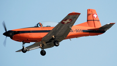 A-909 - Pilatus PC-7 - Switzerland - Air Force