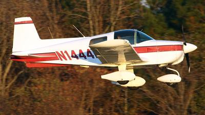 A picture of N1444R - Grumman American AA1B - [AA1B0544] - © Bruce Leibowitz