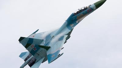 RF-93693 - Sukhoi Su-27UB Flanker C - Russia - Air Force
