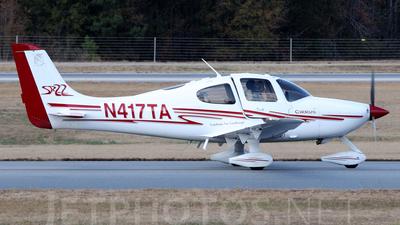 A picture of N417TA - Cirrus SR22 - [0241] - © Agustin Anaya
