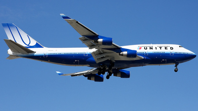 N104UA - Boeing 747-422 - United Airlines