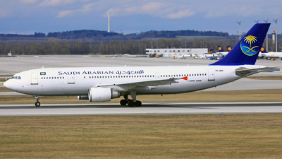 TC-OAO - Airbus A300B4-605R - Saudi Arabian Airlines (Onur Air)