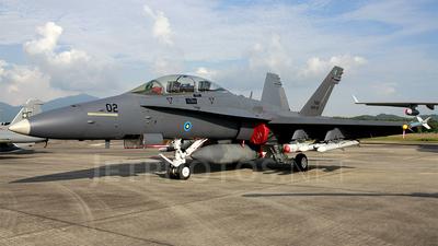 M45-02 - McDonnell Douglas F/A-18D Hornet - Malaysia - Air Force