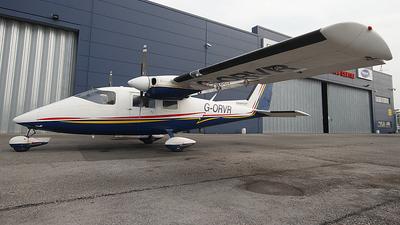 A picture of GORVR - Partenavia P68B Victor - Ravenair - © Planet Aircraft