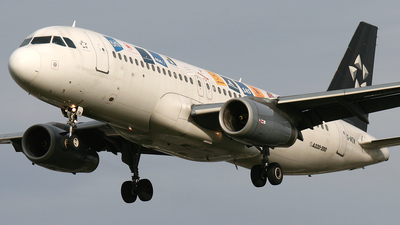 G-MIDW - Airbus A320-232 - bmi British Midland International