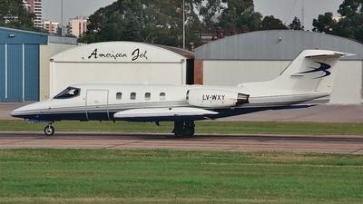 LV-WXY - Gates Learjet 25D - Helyjet