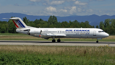 F-GPXE - Fokker 100 - Air Inter