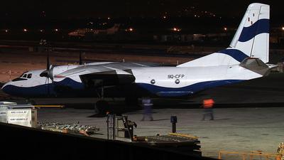 9Q-CFP - Antonov An-26T - Air Kasai