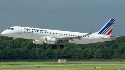 F-HBLC - Embraer 190-100LR - Air France (Régional)