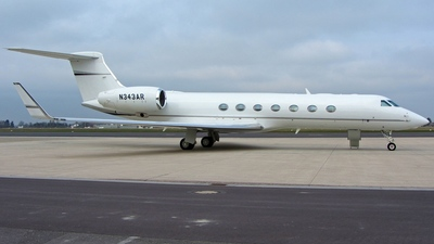 N343AR - Gulfstream G-V(SP) - Private