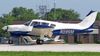 A picture of N599M - Piper PA28R180 - [28R7130013] - © Steve Homewood