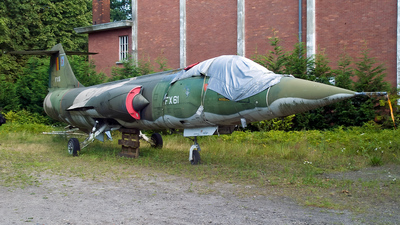 FX-61 - Lockheed F-104G Starfighter - Belgium - Air Force