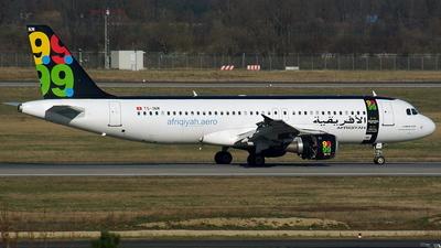 TS-INM - Airbus A320-211 - Afriqiyah Airways (Nouvelair)