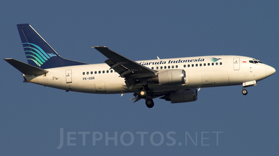 PK-GGR - Boeing 737-3U3 - Garuda Indonesia