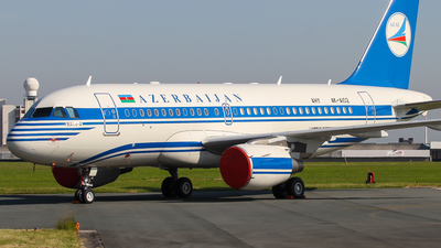 4K-AI02 - Airbus A319-115X(CJ) - Azerbaijan - Government