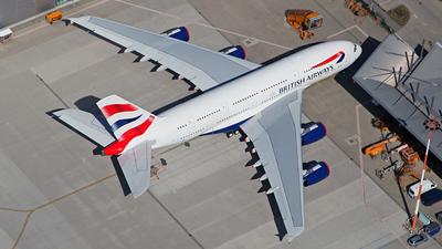 F-WWSK - Airbus A380-841 - British Airways