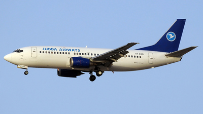 5Y-CCR - Boeing 737-3Z0 - Jubba Airways