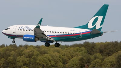 N296AT - Boeing 737-7BD - airTran Airways