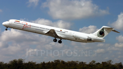 YV335T - McDonnell Douglas MD-82 - Perla Airlines