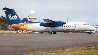 V2-LGG - Bombardier Dash 8-Q311 - Leeward Islands Air Transport (LIAT)