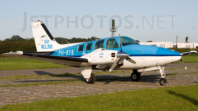 PH-BYB - Beechcraft 58 Baron - KLM Royal Dutch Airlines