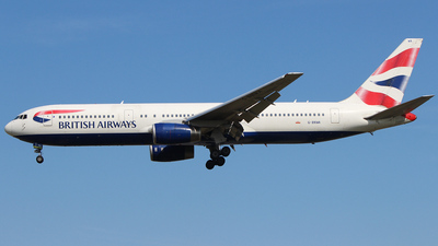 G-BNWA - Boeing 767-336(ER) - British Airways