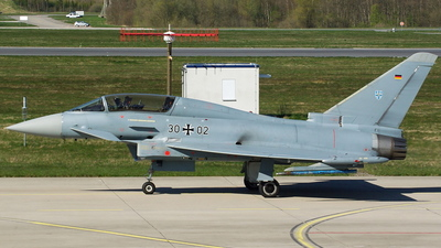 30-02 - Eurofighter Typhoon EF2000 - Germany - Air Force