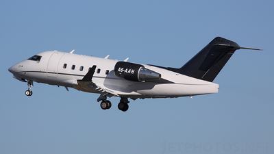 A6-AAH - Bombardier CL-600-2B16 Challenger 604 - Private