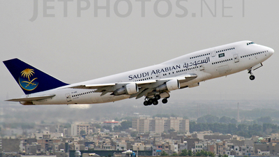 TF-AME - Boeing 747-312 - Saudi Arabian Airlines (Air Atlanta Icelandic)