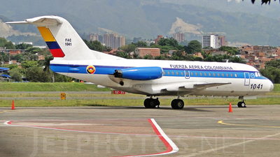 FAC1041 - Fokker F28-3000 Fellowship - Colombia - Air Force