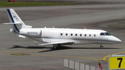 N200GA - Gulfstream G200 - Gulfstream Aerospace
