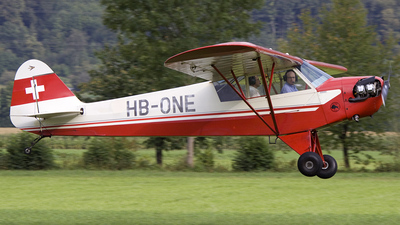 HB-ONE - Piper J-3C-65 Cub - Flying Ranch