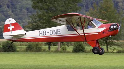 A picture of HBONE - Piper J3C65 Cub - [12491] - © Kurt Greul