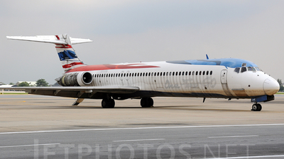 HS-OMI - McDonnell Douglas MD-87 - One-Two-GO by Orient Thai
