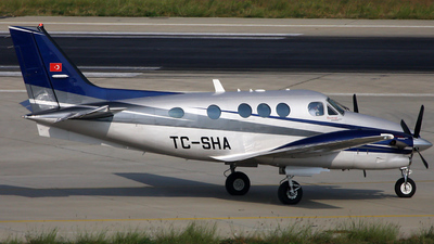 TC-SHA - Beechcraft C90GTi King Air - Anadolu University Civil Aviation School